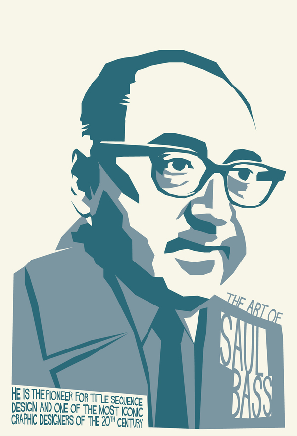 saul bass You've seen saul bass's work during his 40-year career, he did a little bit of everything, from dynamic film title sequences to corporate logos of incredible endurance whatever the medium, bass's influence on the world of design is pervasive among his wide body of work, bass may be best known for his.